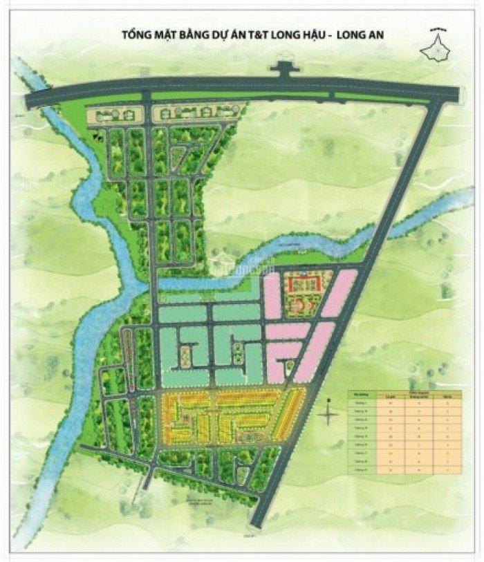 Bán đất thổ cư KDC T&T long hậu nhà bè 5x20 giá 670tr nhận luôn ký gửi giá cao luôn cho khách