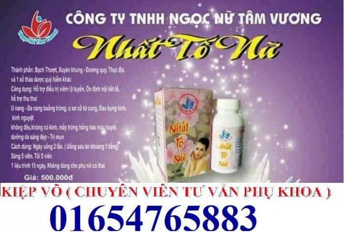 Nhất tố nữ sản phẩm hỗ trợ điều trị bệnh phụ khoa18