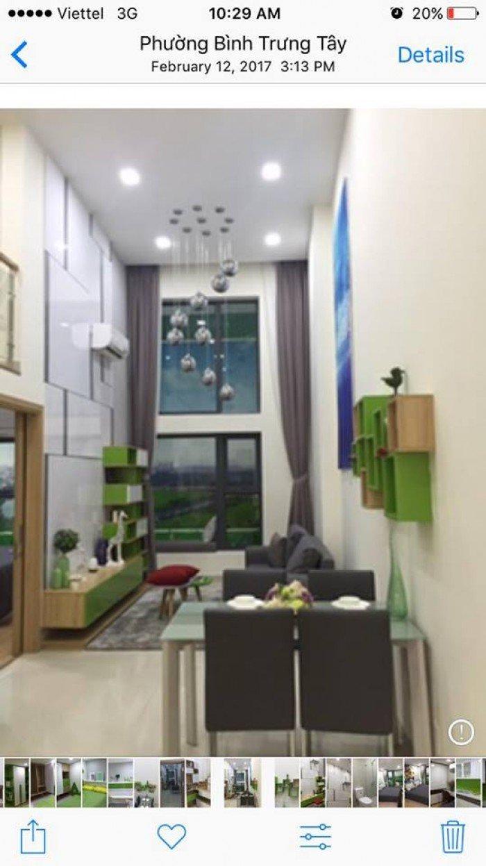 Chính chủ cần bán gấp căn hộ La Astoria GĐ2 tầng 15, có lửng 3PN, 3WC, cửa hướng Đông Nam, 55m2
