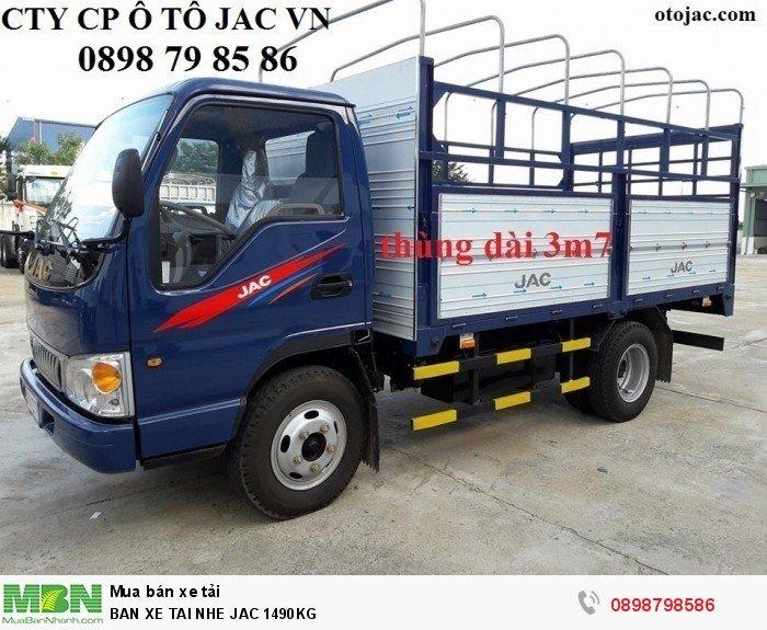 Ban Xe Tai Nhe Jac 1490kg