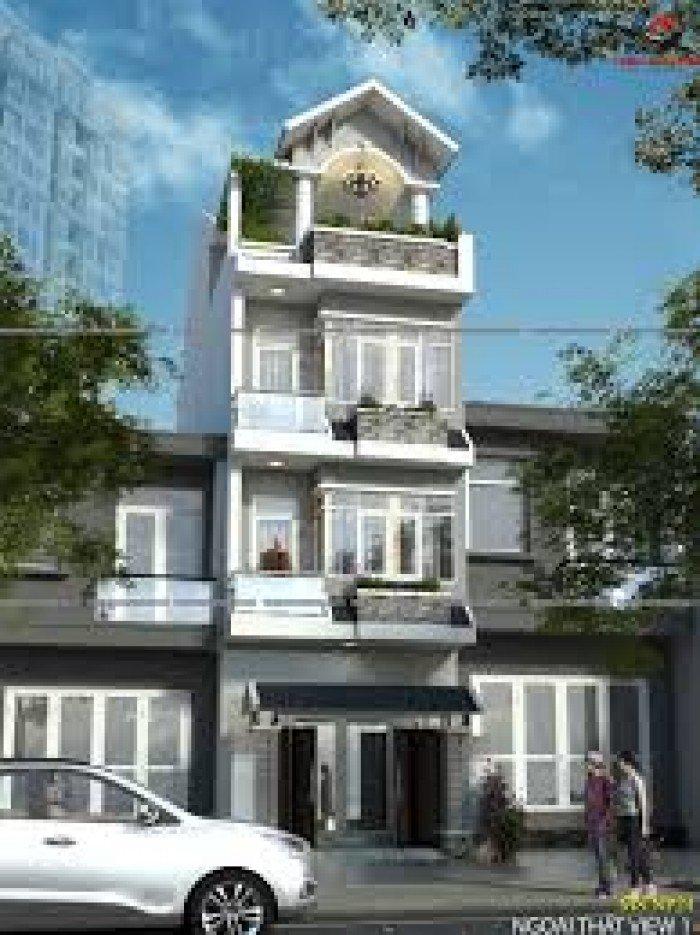 Bán nhà Bình Thạnh 4x16m