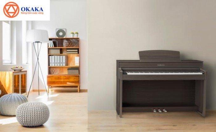 Đàn piano điện Yamaha CLP-645 dòng Clavinova – OKAKA Music0