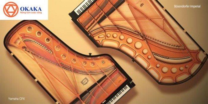 Đàn piano điện Yamaha CLP-645 dòng Clavinova – OKAKA Music2