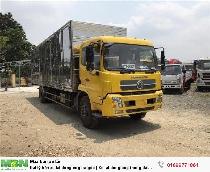 Dongfeng Chenglong sản xuất năm 2018 Số tự động Xe tải động cơ Dầu diesel
