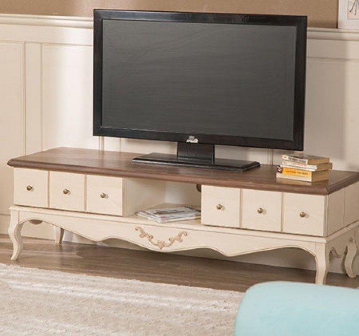 Kệ tivi phòng khách tân cổ điển | kệ trang trí nhập khẩu28