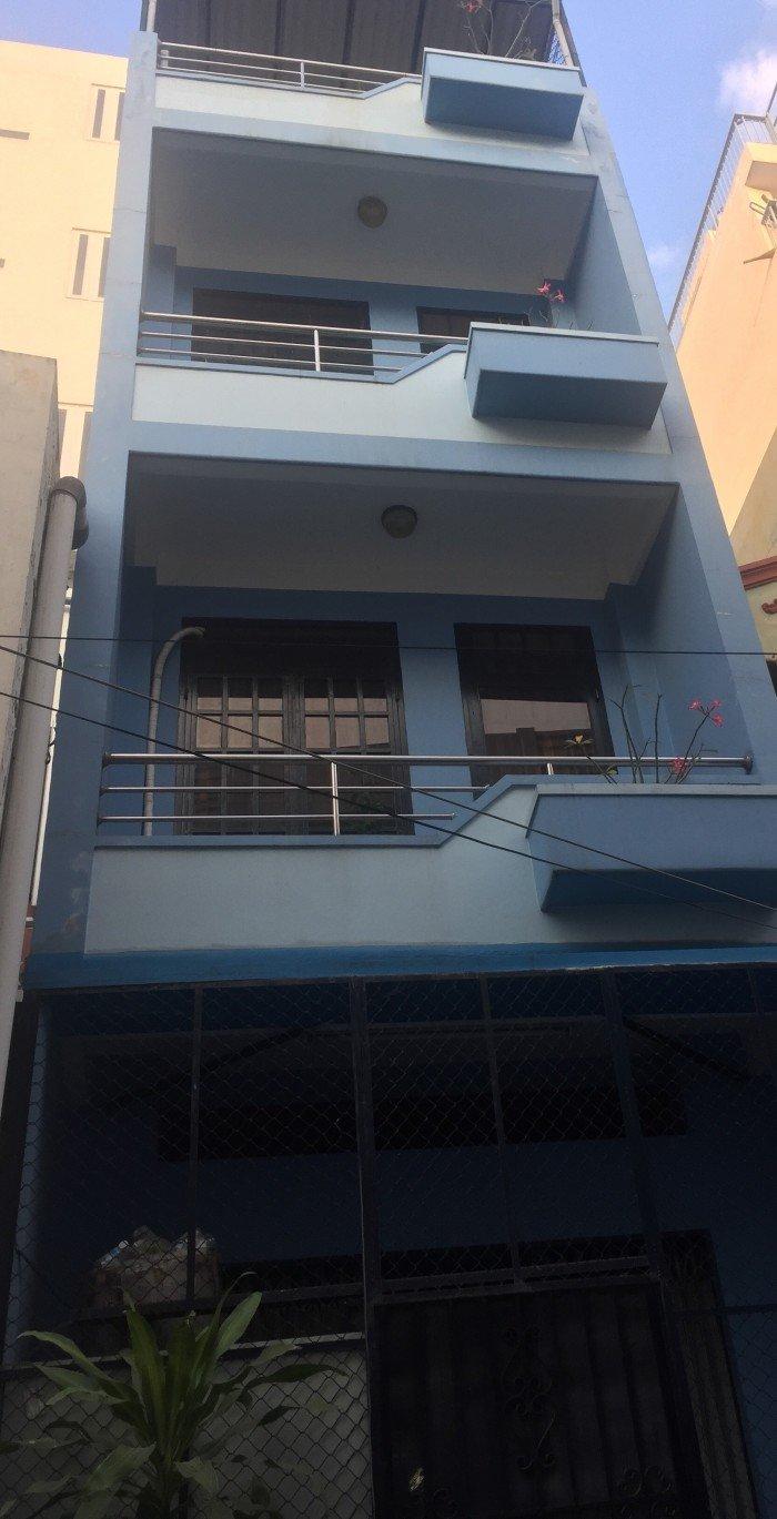 Bán gấp nhà đường Bùi Thế Mỹ, Tân Bình, 60m, 4 tầng