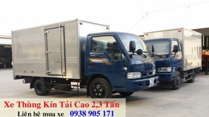 Giá xe tải Thaco K165 2,4 tấn, giá xe tải kia 2 tấn 4