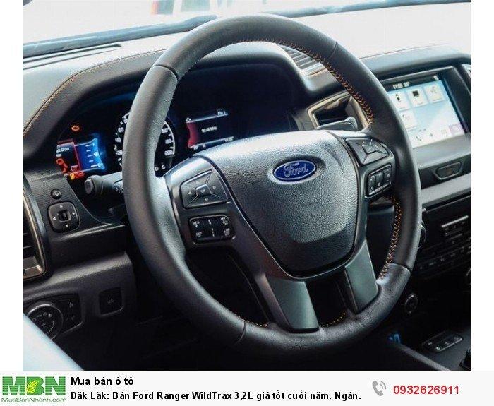 Đăk Lăk: Bán Ford Ranger WildTrax 3,2L giá tốt cuối năm. Ngân hàng 24 h 3