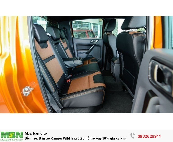 Bến Tre: Bán xe Ranger WildTrax 3.2L hỗ trợ vay 90% giá xe + ngân hàng 24 h