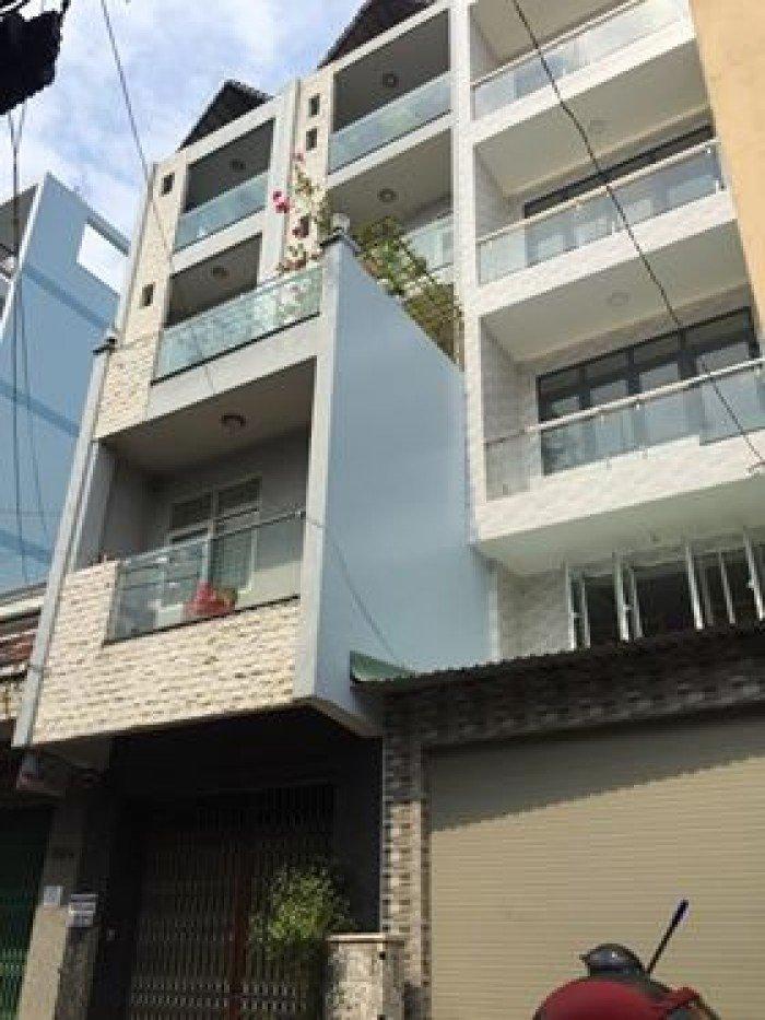 Bán nhà mặt tiền Lạc Long Quân, 60m, 4 lầu, 5PN