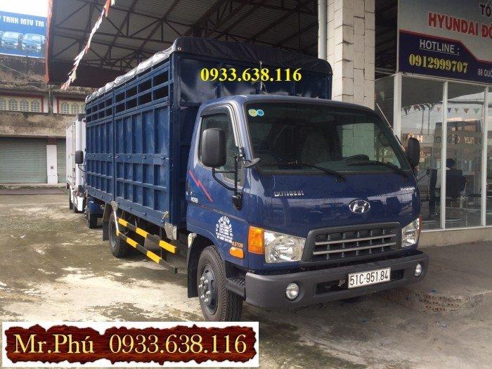 Bán xe tải hyundai HD 99 tải trọng 6,5 tấn nhập 3 cục.