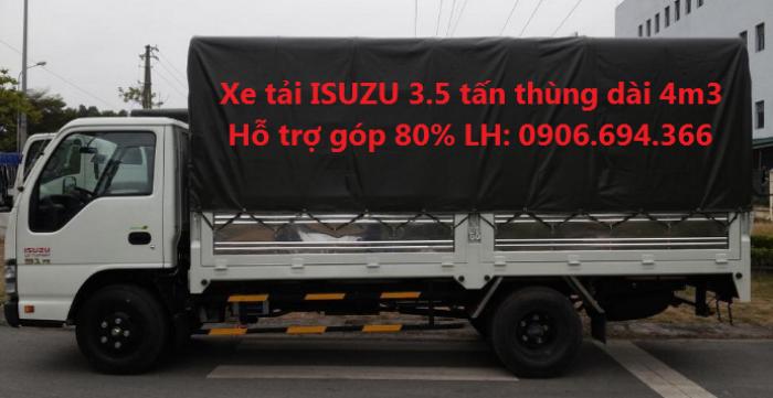 Bán xe tải isuzu 3.5 tấn thùng 4m3 giá rẻ tại Đồng Nai 0
