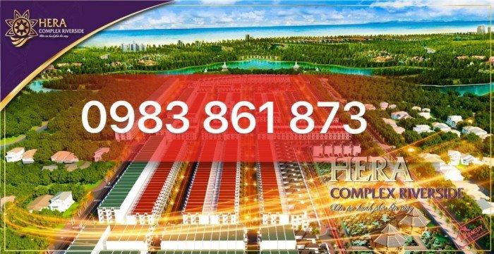 Bán đất ven biển Nam Đà Nẵng - Hera complex riverside- ck 8%