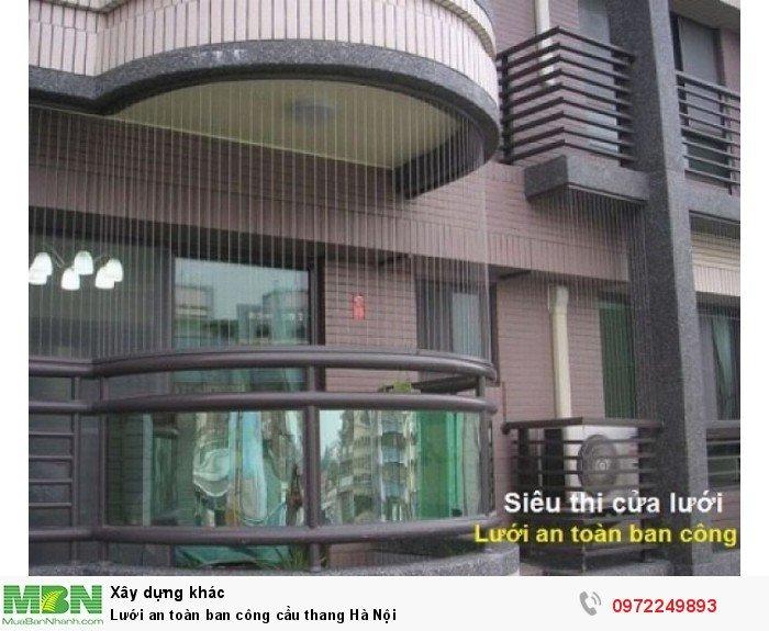 Lưới an toàn ban công cầu thang Hà Nội0