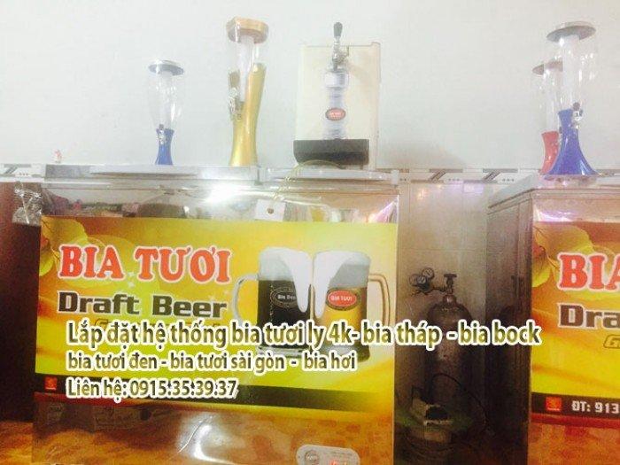lắp đặt đặt hệ thống bán bia tươi - thùng bia tươi