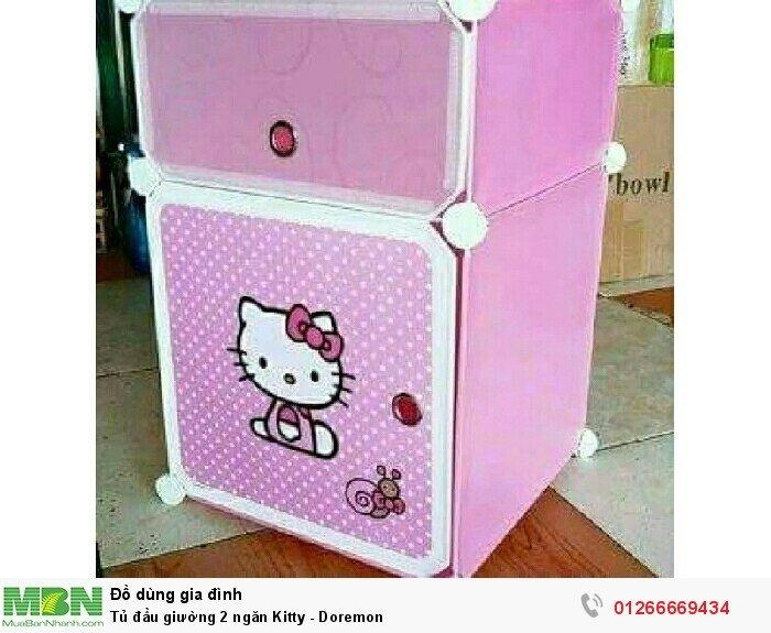 Tủ đầu giường 2 ngăn Kitty - Doremon