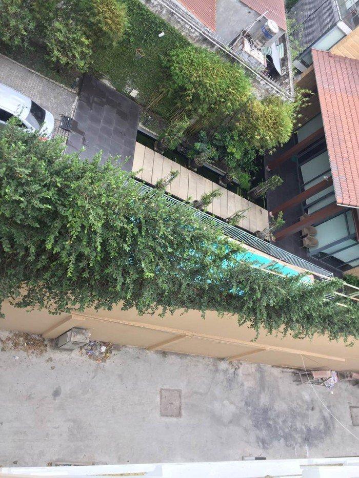 Nguyên căn nhà mới HXH 5m 482/ Lê Quang Định, 4mx12m, 5 tầng, giá 18 tr/tháng