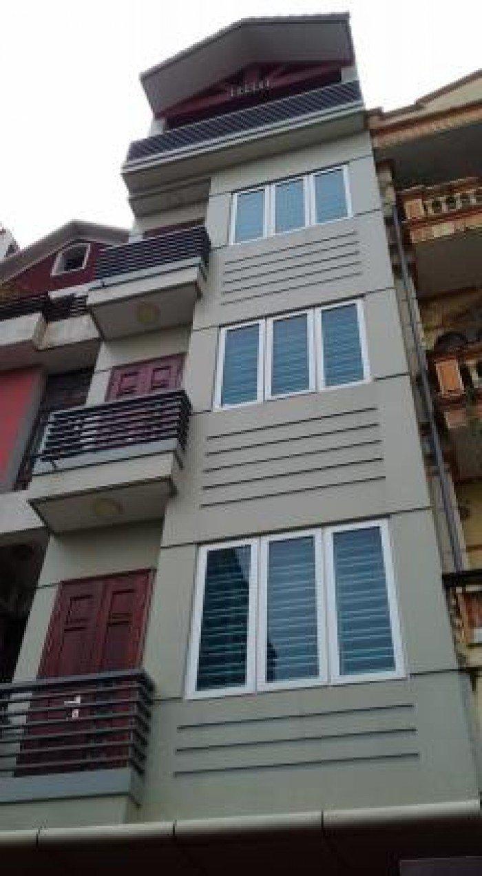 Bán nhà phố Lê Thanh Nghị, Hai Bà Trưng, 55m2, 6 tầng, nhà đẹp ở luôn.