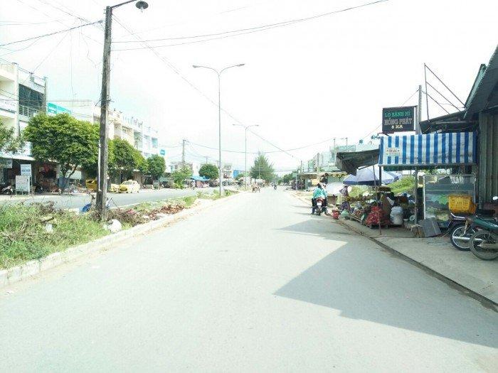 Chính chủ cần bán lô đất SHR, dt 5x24m gần UBND xã Phước Lý, liền kề chợ Bình Chánh giá 330tr.