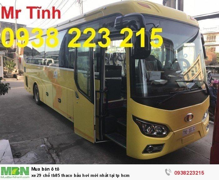 Xe 29 chỗ tb85 Thaco bầu hơi mới nhất tại tp HCM 1