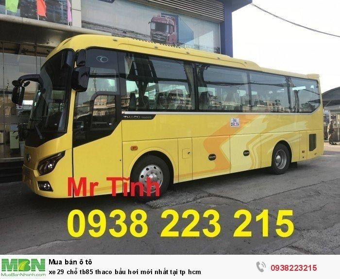 Xe 29 chỗ tb85 Thaco bầu hơi mới nhất tại tp HCM 2