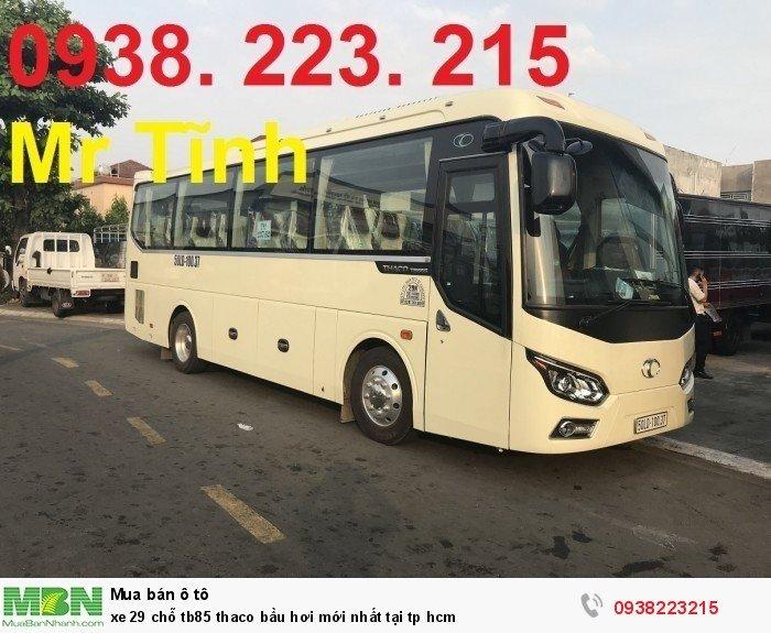 Xe 29 chỗ tb85 Thaco bầu hơi mới nhất tại tp HCM 4