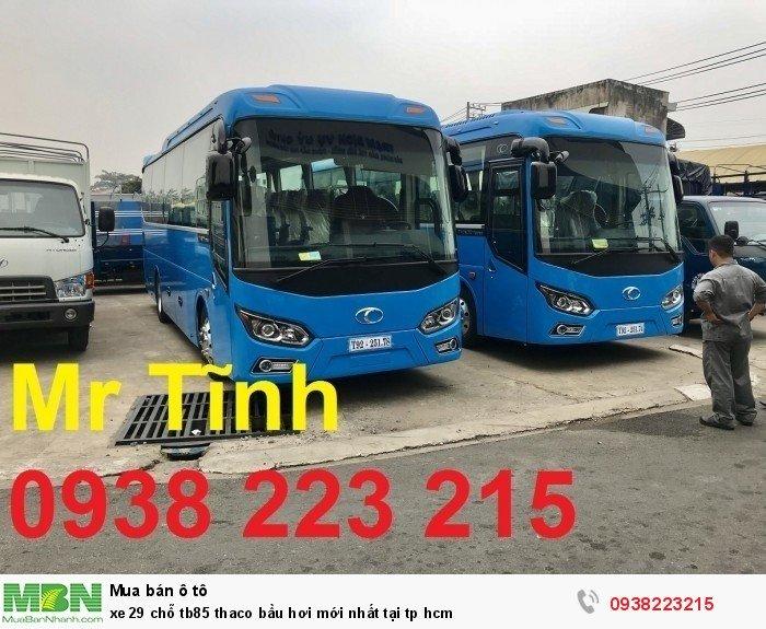 Xe 29 chỗ tb85 Thaco bầu hơi mới nhất tại tp HCM 11