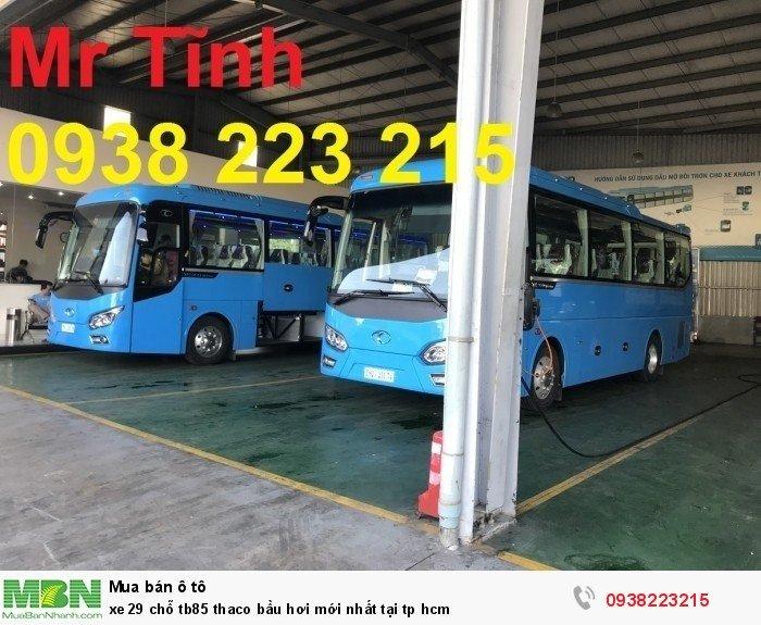 Xe 29 chỗ tb85 Thaco bầu hơi mới nhất tại tp HCM 12