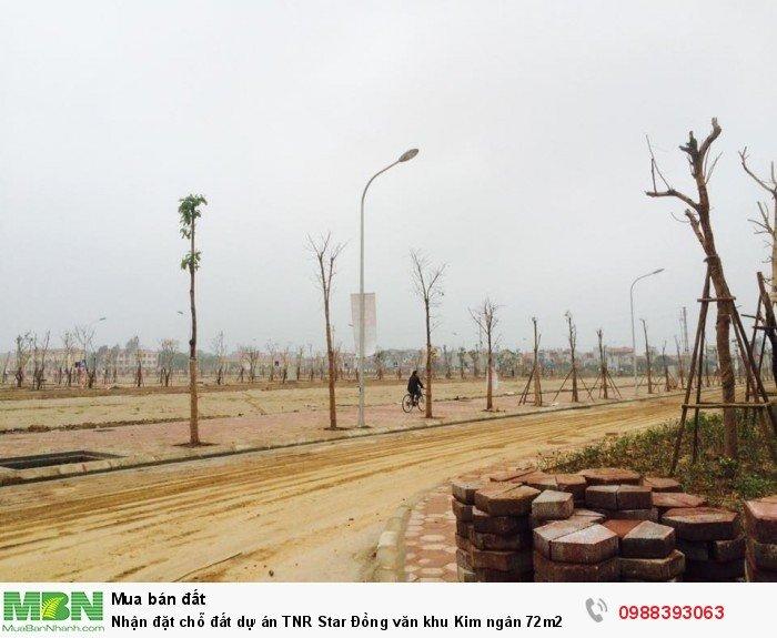 Nhận đặt chỗ đất dự án TNR Star Đồng văn khu Kim ngân 72m2