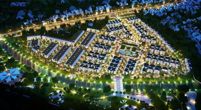 Đất nền sổ đỏ khu dân cư Long Hậu, giá tốt nhất khu vực