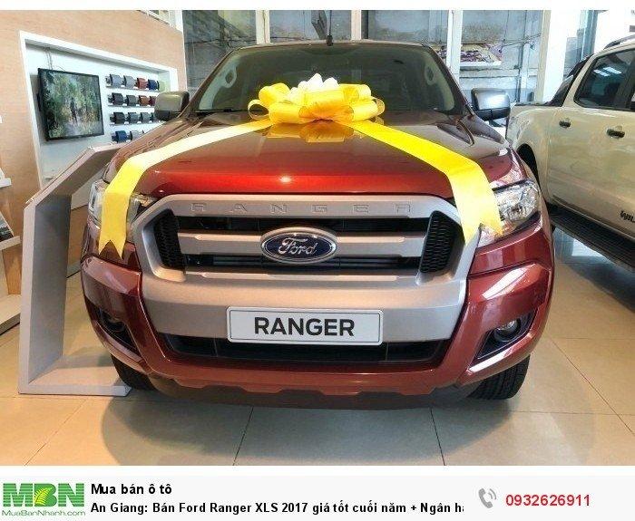 An Giang: Bán Ford Ranger XLS 2017 giá tốt cuối năm + Ngân hàng 24h