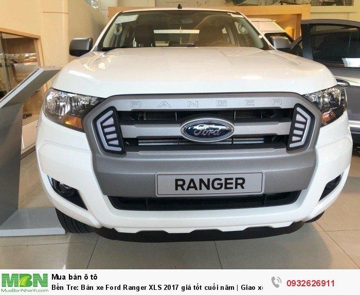 Bến Tre: Bán xe Ford Ranger XLS 2017 giá tốt cuối năm   Giao xe trong tuần