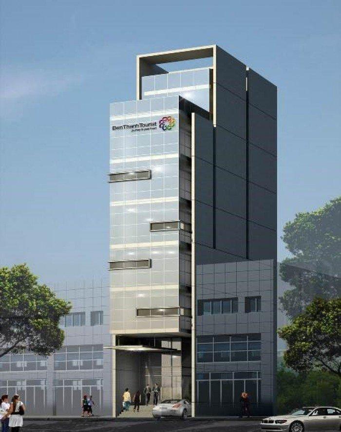 Cho thuê tòa nhà vp tt Quận 1, gần chợ Bến Thành, kv sầm uất, tiện ích