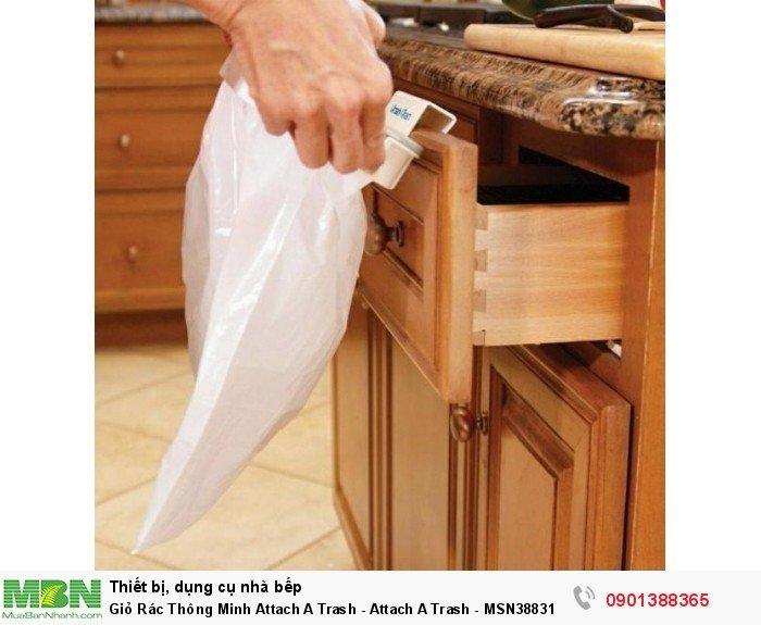 Sọt có móc cài cho cánh tủ dày tối đa 2cm