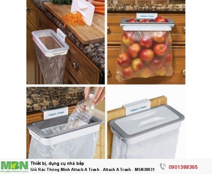 Đặt sọt tại vị trí thuận lợi cho chế biến, bạn chỉ cần gạt tay mặt bếp để vỏ rau củ, đồ cần rơi xuống sọt nhanh chóng, không phải lo nhặt nhạnh nhiều lần đem ra bỏ thùng rác bên ngoài.