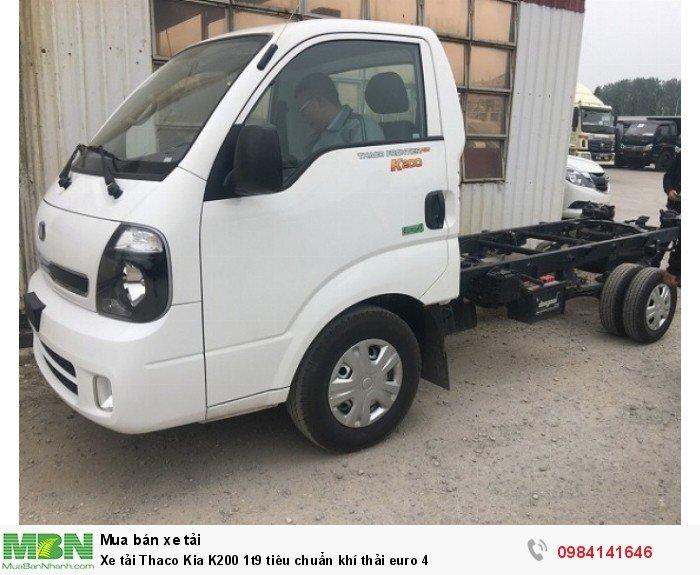 Xe tải Thaco Kia K200 1t9 tiêu chuẩn khí thải euro 4 0