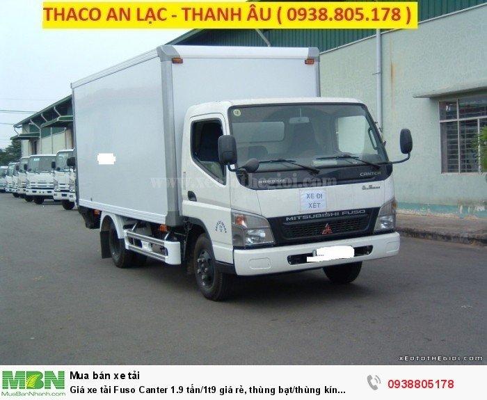 Giá xe tải Fuso Canter 1.9 tấn/1t9 giá rẻ, thùng bạt/thùng kín giao ngay,giá tốt nhất,vay ngân hàng. 3