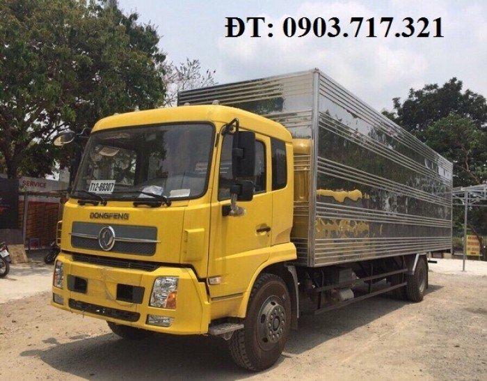 Bán xe tải DongFeng 6T7/6Tan7/6.7Tan/6700Kg thùng kín dài 9m3