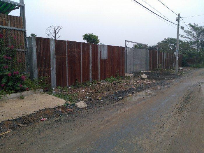 ĐỊNH CƯ bán nhanh 1225m2 mặt tiền TRẦN NÃO, ngang 40m, nở hậu, tường bao kiên cố.