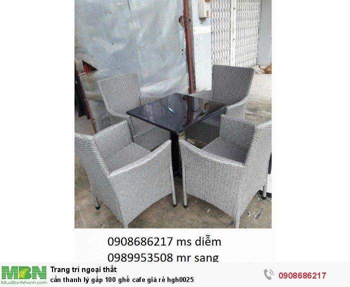 Cần thanh lý gấp 100 ghế cafe giá rẻ hgh00251