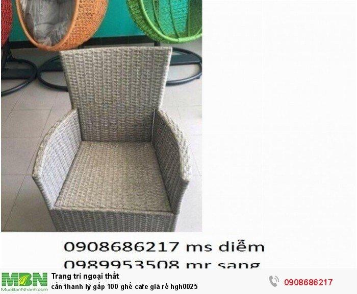 Cần thanh lý gấp 100 ghế cafe giá rẻ hgh00252