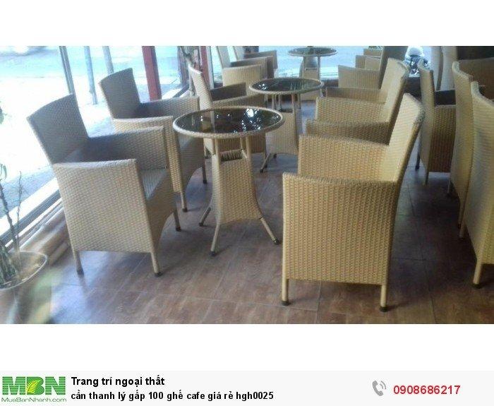 Cần thanh lý gấp 100 ghế cafe giá rẻ hgh00253