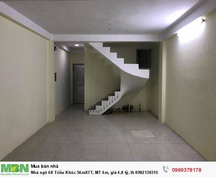Nhà ngõ 68 Triều Khúc 56mX7T, MT 4m