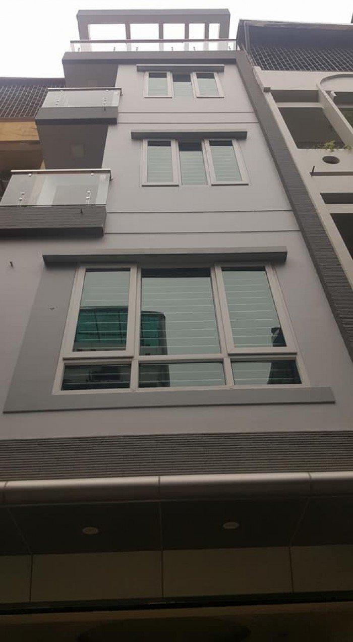 Nhà đẹp Huỳnh Thúc Kháng, phân lô, gara ô tô, 55m2 x 5 tầng