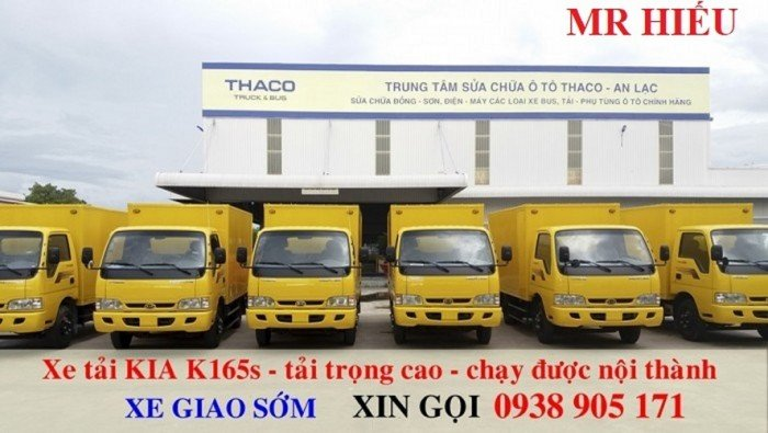 Giá xe tải Thaco KIA 165 , Kia 2,4 tấn, giá xe tải kia 2 tấn 4 rẻ nhất 1