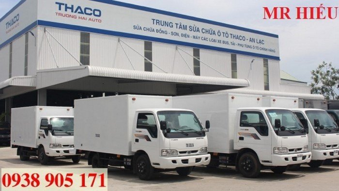 Giá xe tải Thaco KIA 165 , Kia 2,4 tấn, giá xe tải kia 2 tấn 4 rẻ nhất 2