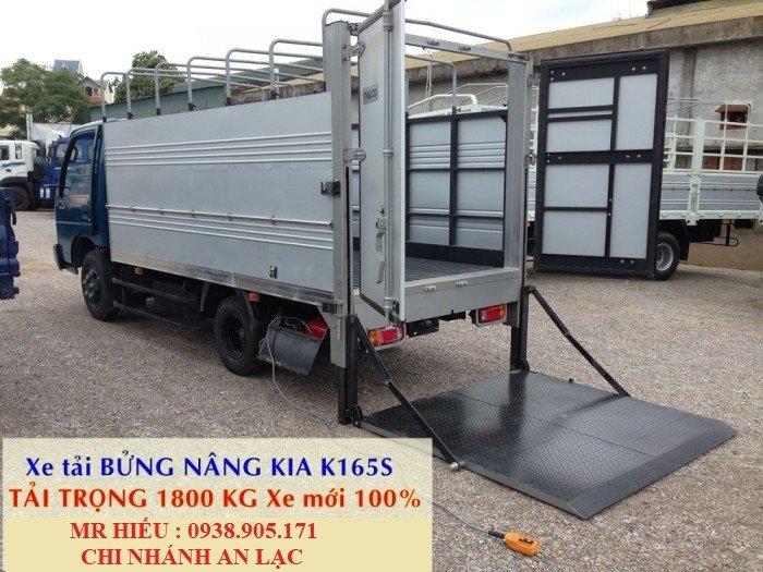 Giá xe tải Thaco KIA 165 , Kia 2,4 tấn, giá xe tải kia 2 tấn 4 rẻ nhất 4