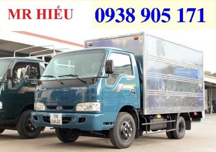 Giá xe tải Thaco KIA 165 , Kia 2,4 tấn, giá xe tải kia 2 tấn 4 rẻ nhất 6