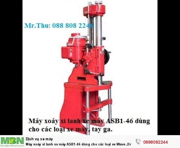 Máy xoáy xi lanh xe máy ASB1-46 dùng cho các loại xe Wave ,Dream, Tay ga...