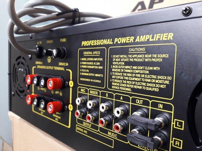 Ampli ap audio pro 7900 bluetooth2